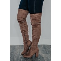 Ready For It Boots: Taupe