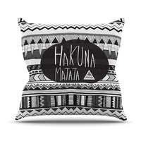 "Vasare Nar ""Hakuna Matata"" Throw Pillow"
