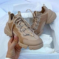 Dior D Connect Sneakers women shoes-3