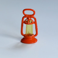 Vintage Orange and Yellow Lantern Cracker Jill  Charm - Qty 1