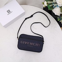 Givenchy Women's Leather Shoulder Bags Satchel Tote Bag Handbag Shopping Leather Crossbody 070369