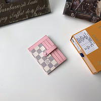 LV Louis Vuitton DAMIER CANVAS CARD HOLDER WALLET