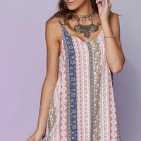 Woman Sexy  Floral Beach Dress  Halter Summer Loose Dress BohemiaChest Wrapped Clothing