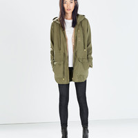 PARKA WITH ZIPS