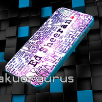 ed sheeran galaxy cover case for iPhone 4 4S,5 5C 5 5S,6 6 Plus,Samsung Galaxy s3 s4 s5 Note 3