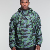 DrJays.com - Detailed Images of Narrows Fleece Camo Jacket by The North Face