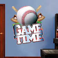 Baseball sticker for housewares - 59.1 x 66.9 inches