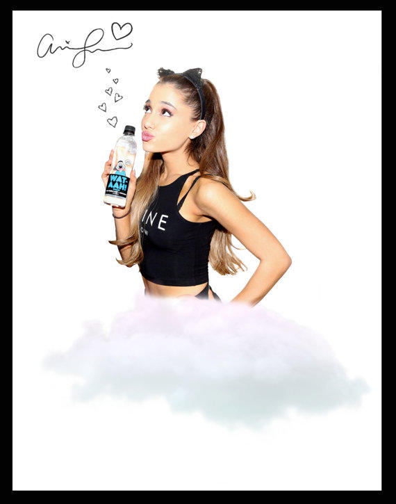 Signed Printable Ariana Grande Poster From Trendylives On Etsy