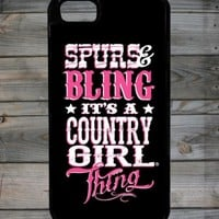 Country Girl ®  Bling Thing iPhone 5 Brookley Cover/Case