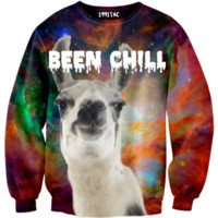 ☮♡ Been Chill Llama Sweater ✞☆