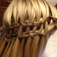 Double Waterfall Braid Hairstyles – Beautiful Cascade/Waterfall Braid | Hairstyles Weekly