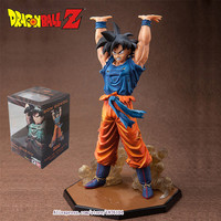 Anime Dragon Ball Z ZERO Son Goku Genki Dama Spirit Bomb Action Figure Juguetes DragonBall Figures Brinquedos Kids Toys 6.8""