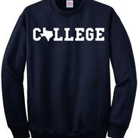 Texas College Sweatshirt