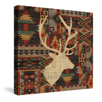 Wild Woods II Canvas Wall Art