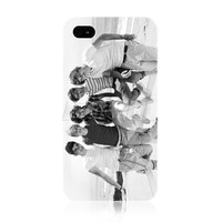 Ecell - ONE DIRECTION 1D BRITISH BOY BAND SNAP-ON BACK CASE COVER FOR APPLE IPHONE 4 4S