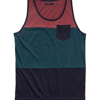 Colorblocked Pocket Tank