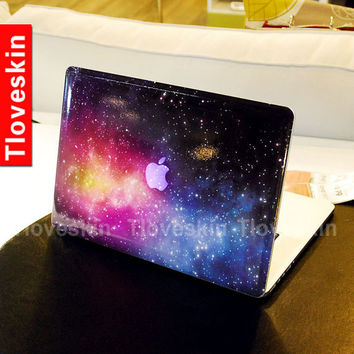 Universe Star Decal for Macbook Pro, Air or Ipad Stickers Macbook Decals Apple Decal for Macbook Pro / Macbook Air