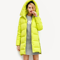 Quilted Hooded Winter Coat