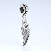 Silver Plated European Charms & Pendant Fit Pandora Bracelet