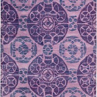 Safavieh Wyndham WYD376J Purple Rug