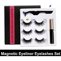 Magnetic Eyelash Kit with Eyeliner