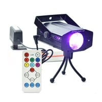 DJ Party Stage Light 3W Projector with Remote Control