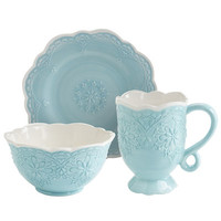 Lacy Dinnerware - Blue