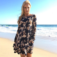 Pocketful of Posies Floral Knit Dress