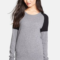 Women's Equipment 'Sloane' Colorblock Cashmere Sweater