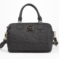Hello Kitty Embossed Satchel: Silhouette