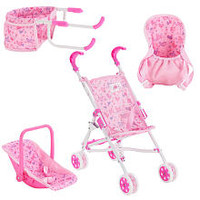You & Me 4 Piece Doll Accessory Combo Set - Pink