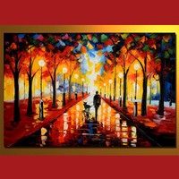 MLS0408008 Oil Painting On Canvas, 60 x 90 cm/24 x 36 in