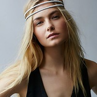 Free People Womens Glimmer Double Headband