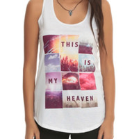 This Is My Heaven Concert Girls Tank Top