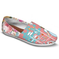 Floral Nurse Casual Shoes