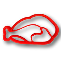 Thanksgiving Baked Turkey Cookie Cutter