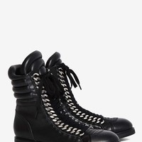 Lust For Life Oasis Leather Combat Boot