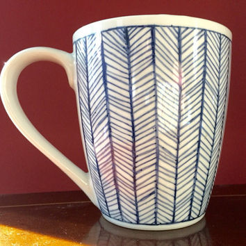 Handmade Sharpie coffee mug
