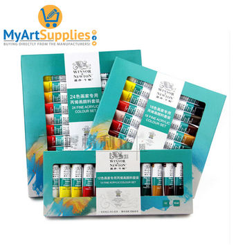 12 Acrylic Paint Set Hand and Wall Painting