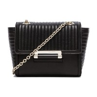 Diane von Furstenberg Mini Shoulder Bag in Black