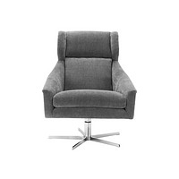 Gray Upholstered Wingback Chair | Eichholtz Nara