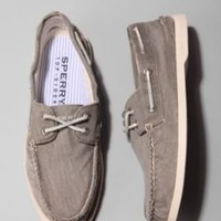 UrbanOutfitters.com > Sperry Washed Canvas Deck Shoe