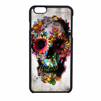 Floral Sugar Skull iPhone 6 Case