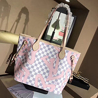 LV Women Shopping Fashion Handbag Shoulder Bag Satchel