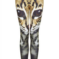 Cat Face Leggings - New In This Week - New In - Topshop USA
