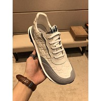 Gucci Men Fashion Boots fashionable Casual leather Breathable Sneakers Running Shoes-779