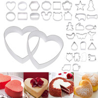 DIY Cake Decorating Fondant Cookie Cutters Cakes Kitchen Tools Animation Cake Biscuit Baking Molds