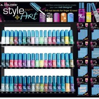 L.A. Colors Nail Art - Art Deco Nail Polish - Original 22 pc. Set (Display Not Included)