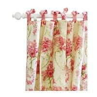 Roses for Bella Floral Curtain Panels