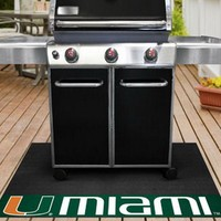 University of Miami Hurricanes Vinyl Grill Mat
